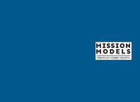 Barva Mission Models - modrá 30ml