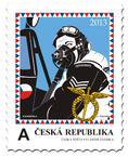 切手 「ナシ・セ・フラツェイー」/チェコ郵便