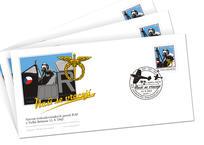 """Commemorative postal envelope – """"Nasi se vraceji"""""""