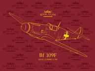 Bf 109F Dual Combo  1/48 1/48