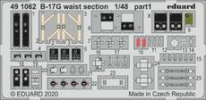 B-17G waist section 1/48