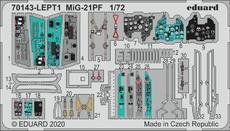 МиГ-21ПФ фототравление 1/72