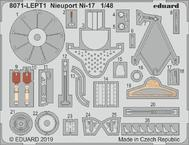 Nieuport Ni-17 фототравление 1/48