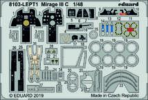 Mirage III C LEPT 1/48