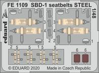 SBD-1 seatbelts STEEL 1/48