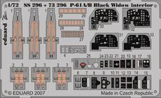 P-61A/B интерьер S.A. 1/72