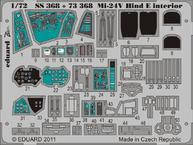 Mi-24V ハインド E 内装 接着剤塗布済 1/72
