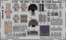 Bf 110E 内装 接着剤塗布済 1/72