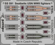 Стальные ремни USN WWII для истребителей 1/72