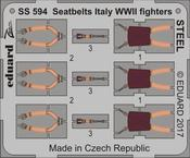 Seatbelts Italy WWII fighters STEEL 1/72