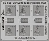 Luftwaffe pedály řízení 1/72