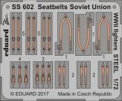 Стальные ремни для советских истребителей Второй Мировой 1/72
