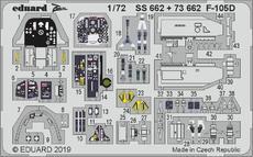 F-105D interiér 1/72