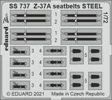 Z-37A seatbelts STEEL 1/72