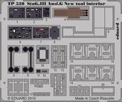 III号突撃砲G型 内装 ニューツール 1/35