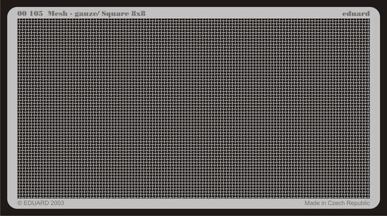 Mesh - gauze/ Square 8x8  - 1