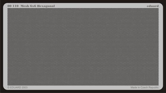Mesh 6x6 Hexagonal  - 1