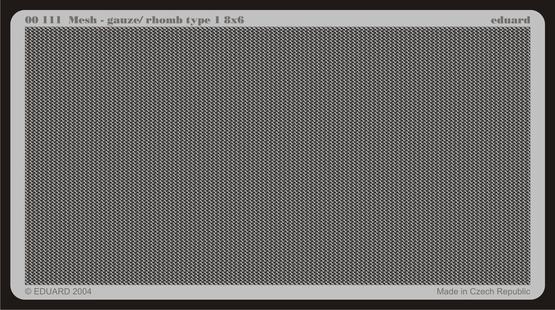 Mesh - gauze/ Rhomb type 8x6  - 1