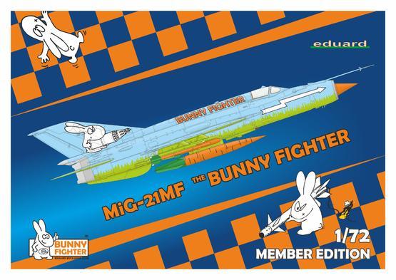 MiG-21MF Bunny Fighter + T-shirt XXXL 1/72  - 1