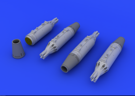 UB-16 rocket launchers for MiG-21 1/72  - 1