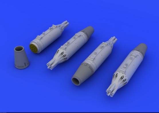 UB-16 rocket launchers for MiG-21 1/72  - 1