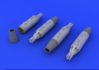 UB-16 rocket launchers for MiG-21 1/72 - 1/2