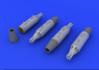 UB-16 rocket launchers for MiG-21 1/72 - 1/2