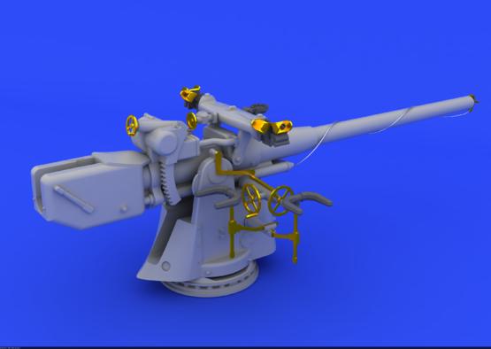 German Submarine 10,5cm gun  1/72 1/72  - 1