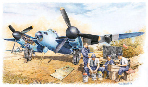 Poster - Mosquito, 400 sqdn.