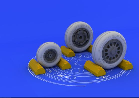 F-117A wheels  1/32 1/32  - 1