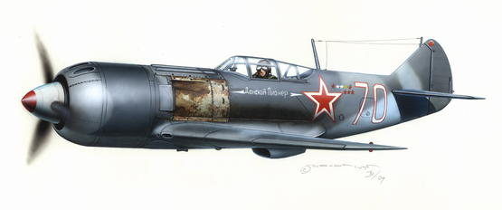 Lavochkin La-7 Heavy Fighter 1/72