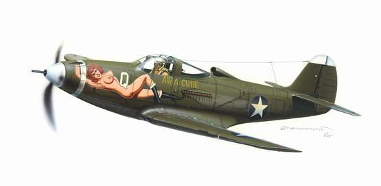 P-400 Airacobra Air a Cutie 1/48