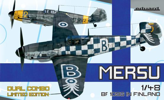 Mersu / Bf 109G ve Finsku Dual Combo 1/48