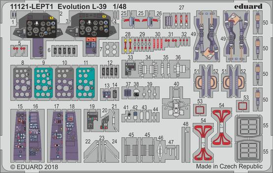 Evolution L-39 PE-set 1/48
