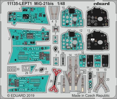 MiG-21bis PE-set 1/48  - 1