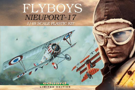 Nieuport Ni-17 FLYBOYS 1/48