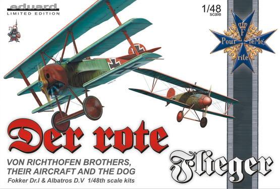 Der rote Flieger  (Fok.DrI+Albat.D.V.) 1/48