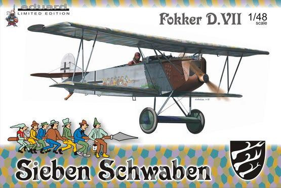 Fokker D.VII (O.A.W.)  - Sieben Schwaben 1/48