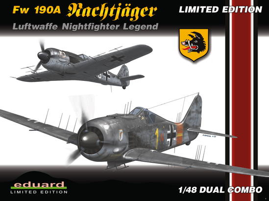 Fw 190A Nachtjäger  (DUAL COMBO) 1/48