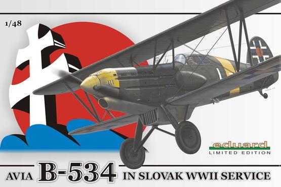 Avia B-534 in Slovak WWII service 1/48