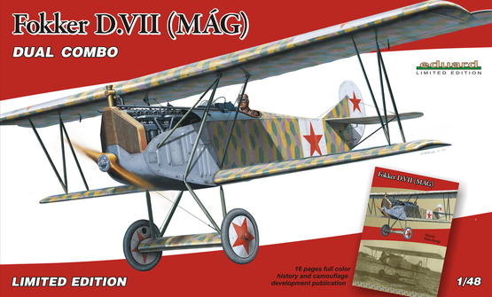 Fokker D.VII MÁG - DUAL COMBO 1/48