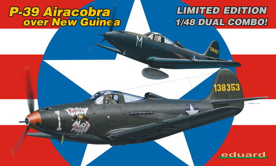 P-39 Airacobra over New Guinea - DUAL COMBO 1/48