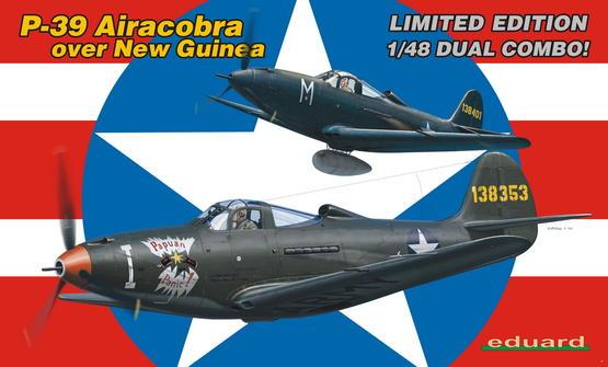 P-39 Airacobra over New Guinea - DUAL COMBO 1/48