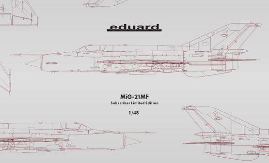 MiG-21MF Subscriber  Limited Edition 1/48