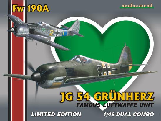Fw 190A JG-54 Grünherz DUAL COMBO 1/48
