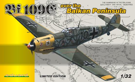 Bf 109E over the BALKAN PENINSULA  1/32 1/32