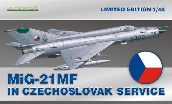 MiG-21MF in Czechoslovak service 1/48