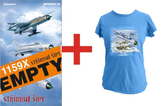 Stříbrné šípy (Silver arrows) EMPTY + T-shirt (L) 1/48