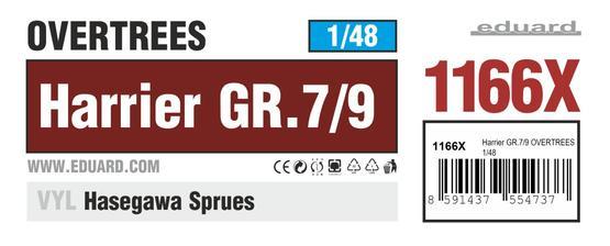 Harrier GR.7/9 OVERTREES 1/48