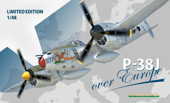 P-38J over Europe 1/48